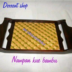 Jual Nampan Kue Bambu
