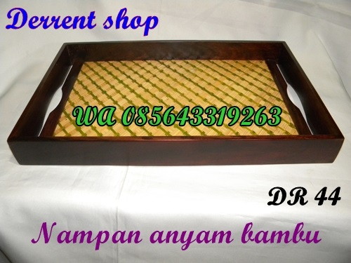 Jual Nampan Anyam Bambu
