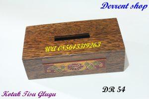 Jual Kotak Tisu Kayu Glugu