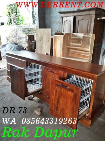 Detail Produk Jual Lemari Dapur Kayu