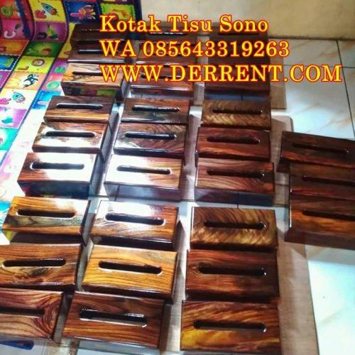 Harga Kotak Tisu Kayu Sono