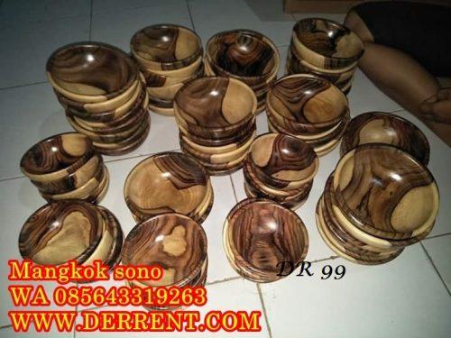 Jual Mangkok Kayu Sono