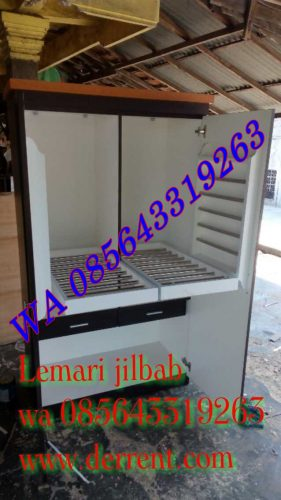 Model Lemari Jilbab Terbaru