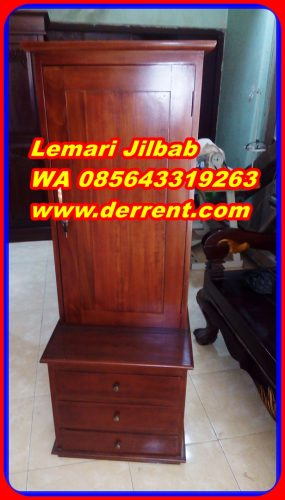Lemari Jilbab Minimalis