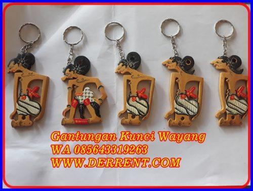 Gantungan Kunci Wayang