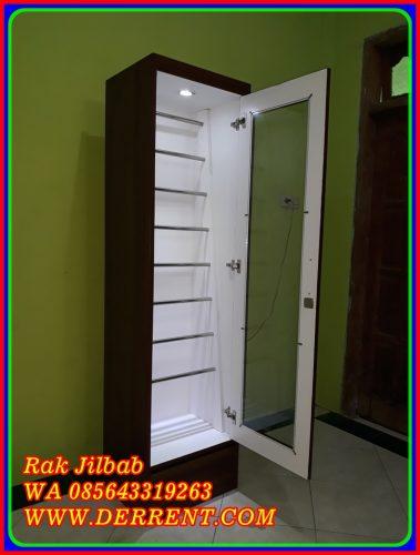 Rak Jilbab Minimalis