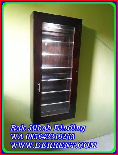 Rak Jilbab Dinding