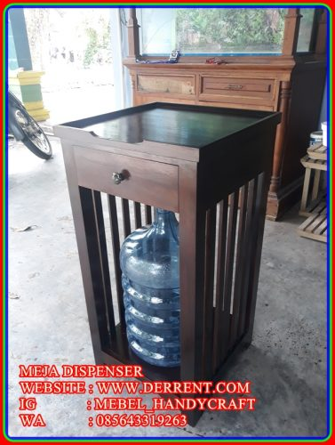 Meja Dispenser Model Terbaru