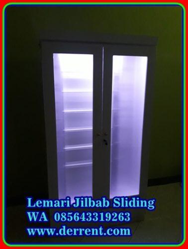 Cara Menyimpan Jilbab di Lemari