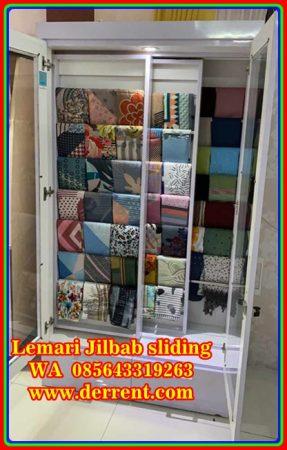 Rak Jilbab Minimalis Modern